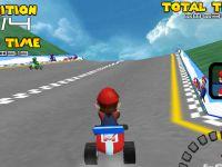 Mario Kart Rennen